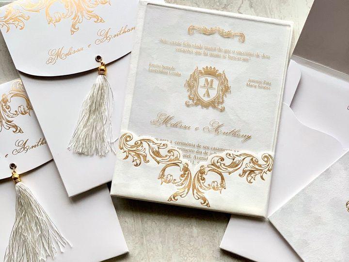 Tmx White Prestige 1 51 1940039 158268359348144 Slidell, LA wedding invitation