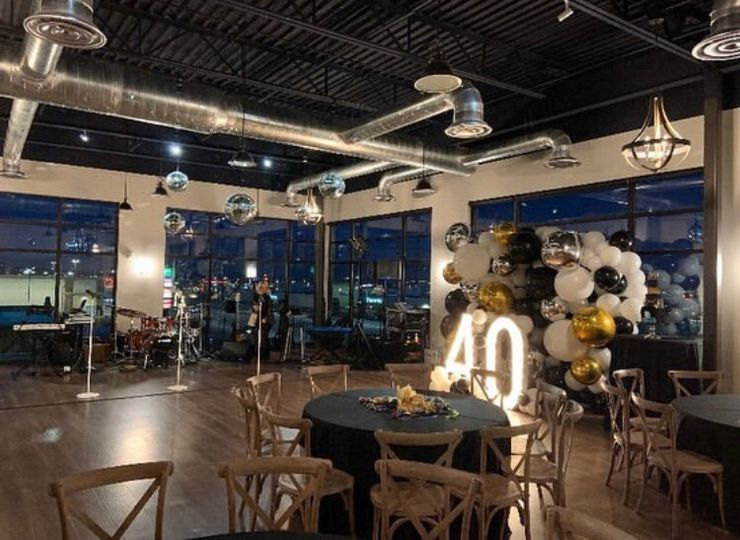 Surprise 40th with Live Band