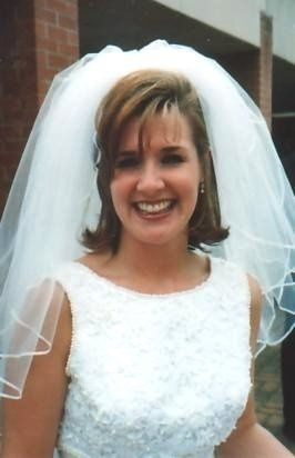 This is my sister Ashley on her wedding day.