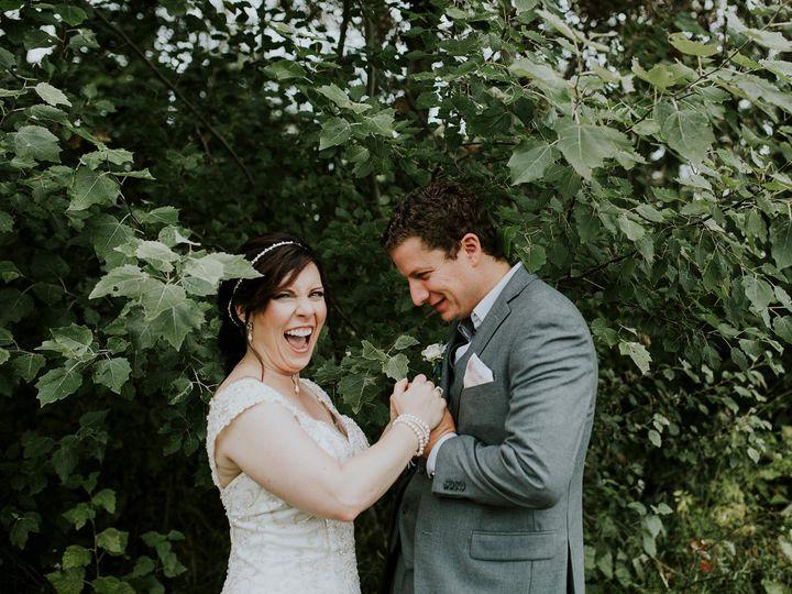 Traverse City wedding couple