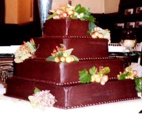 Tmx 1224818388163 4tierchoc Brooklyn wedding cake