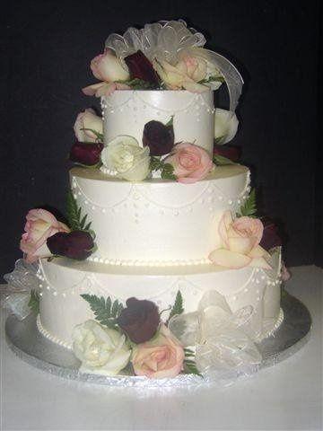 Tmx 1224818487991 Rosecake Brooklyn wedding cake