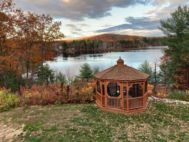 Cedar Gazebo Ceremony Site