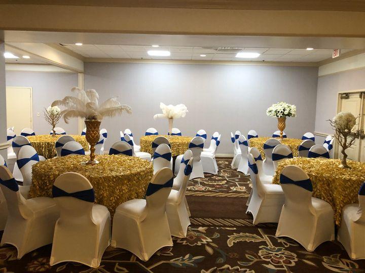 Dinner at banquet room
