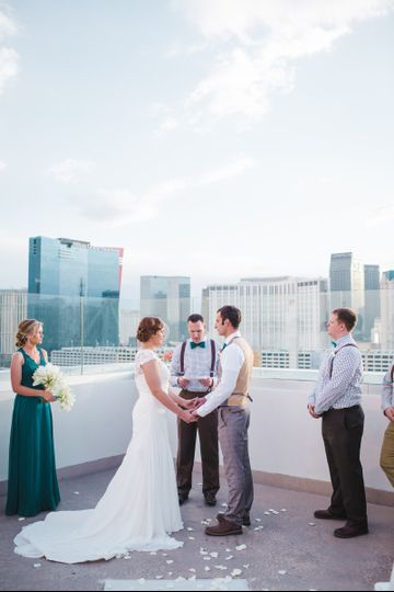 Wedding at the rooftop