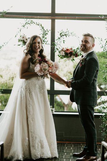 Ceremony laughs