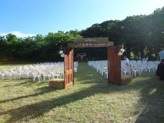 Doorway and wedding space