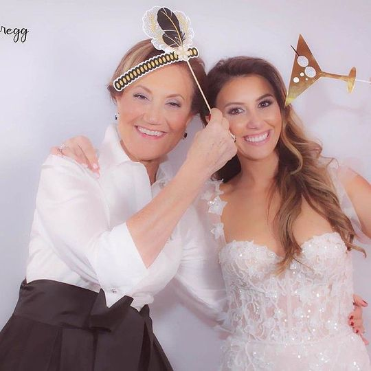 A snap with the bride