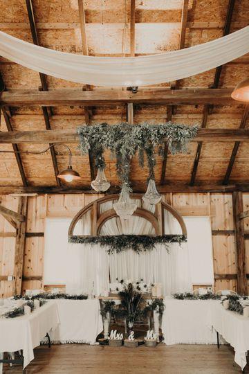 Event setup | Christy Beal Photography