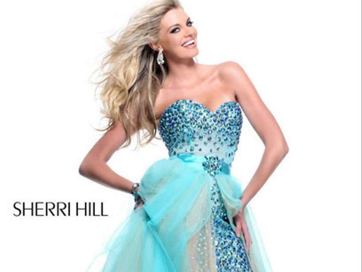 Tmx 1386132286074 Sherrihill 2013s 21023aquanude21023  Land O Lakes wedding dress