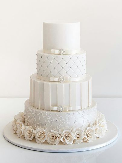 Traditional tier cake