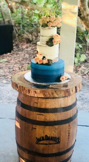 Jack Daniell's Barrels for Cake