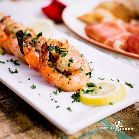 Tango Lime shrimp