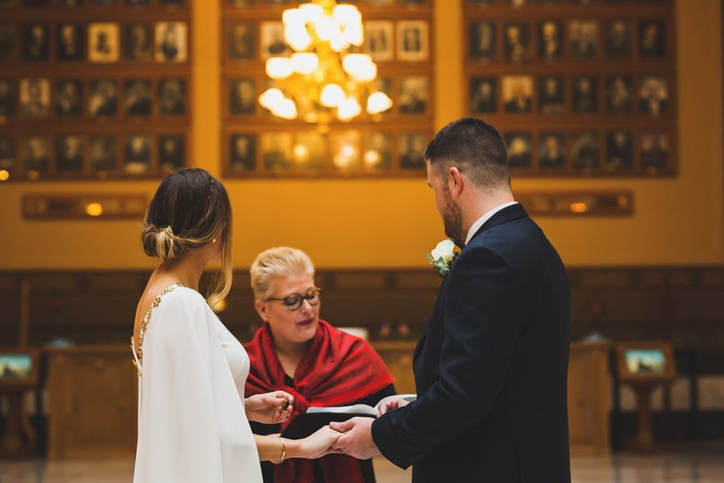 Indiana State House Elopement