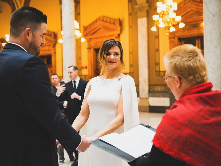 Tmx 1530465360 A1f89c7edade3d01 1530465357 2e327a428448ee5b 1530465353163 6 Caseystatehouse Indianapolis, IN wedding officiant