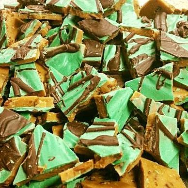 Mint Chocolate Toffee