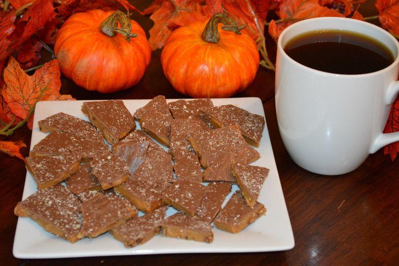 Pumpkin Spice Toffee