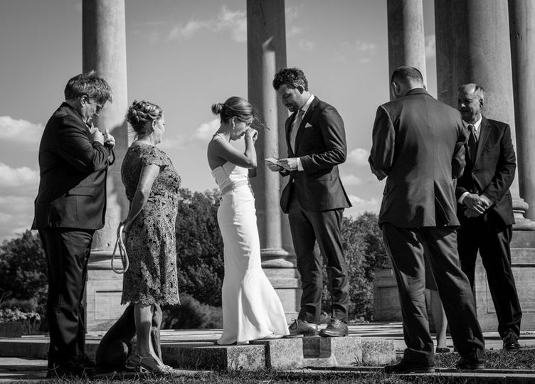 Wedding Ceremonies in the National Capitol Columns