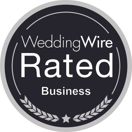 weddingwire rated black business
