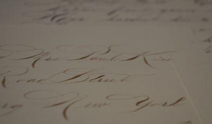 Grand Wedding Calligraphy