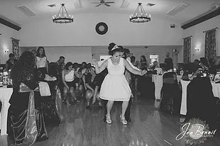 One of many dances between the Bride and Groom.