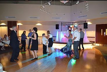 Wedding party getting underway.