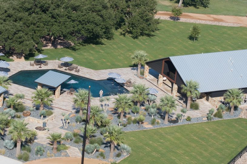 Pool & Doe House