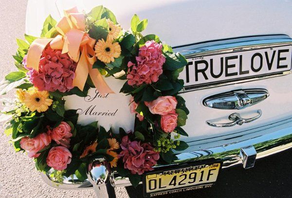 Car flower arrangement