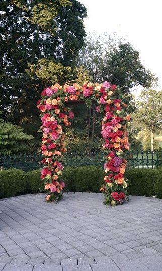 Flower arc