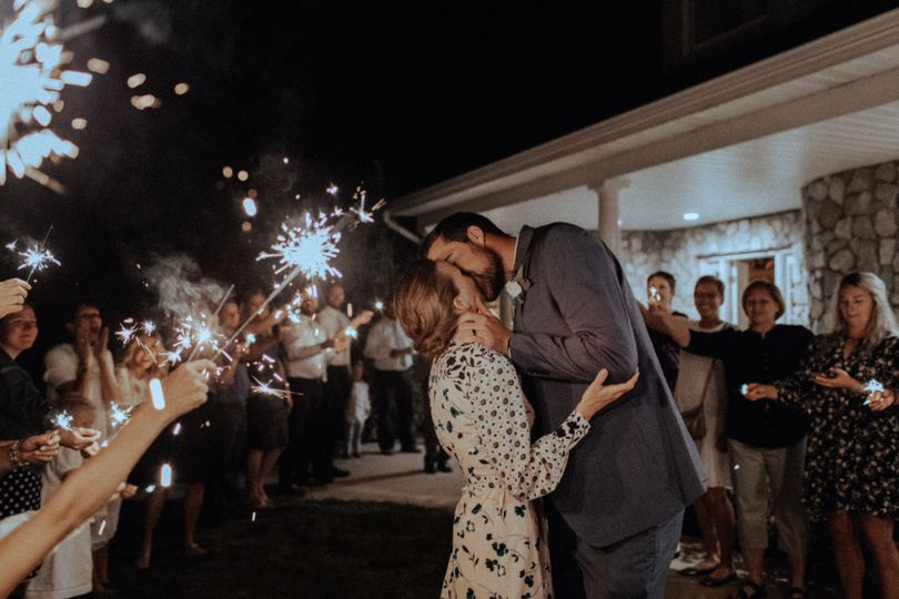 Utah wedding.