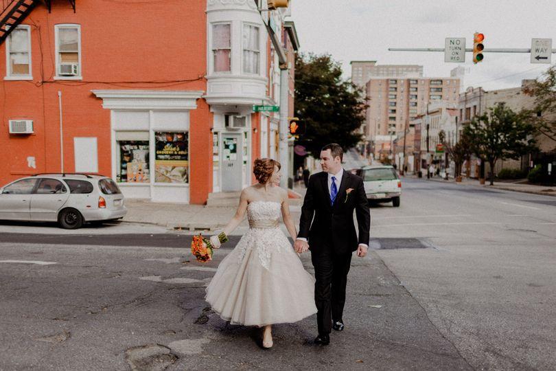 Lancaster city wedding.