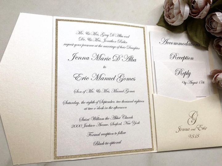 Tmx Wedding Pocket Invitation 51 919139 157910214711121 Jersey City, NJ wedding invitation