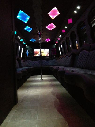 Motor city party bus transportation white lake mi for Motor city party bus