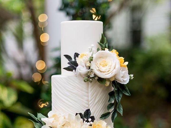 Tmx Sewellsweetspaintedyellowsugarflowersweddingcake 51 959139 157401174878628 Newberg, OR wedding cake