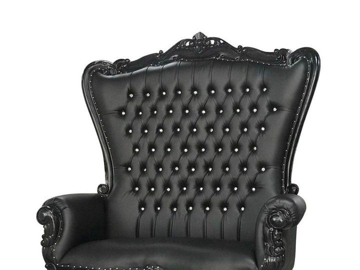 Tmx Black Throne Loveseat 51 1899139 157592131042034 Raleigh, NC wedding rental