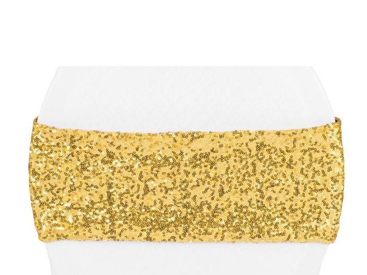 Tmx Gold Glitz Chair Sash 51 1899139 157592126842370 Raleigh, NC wedding rental