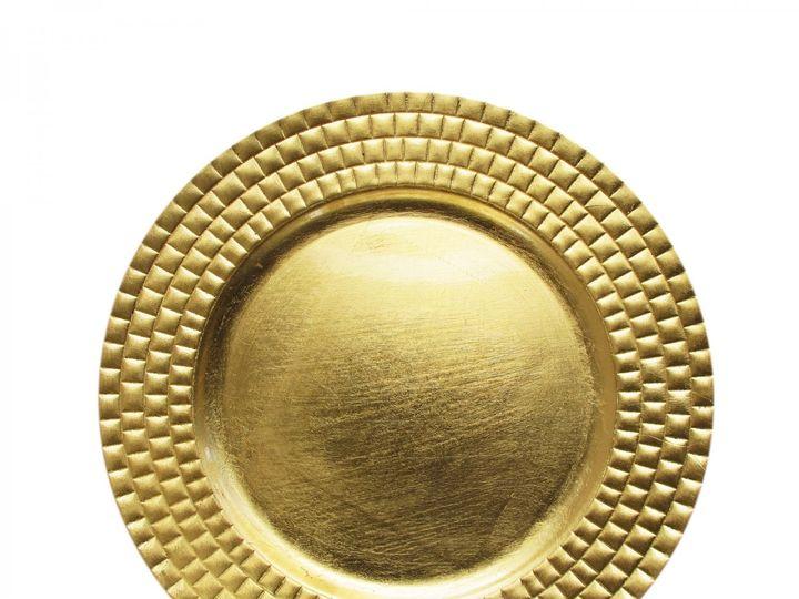 Tmx Gold Tile Charger Plate 51 1899139 157592130387495 Raleigh, NC wedding rental