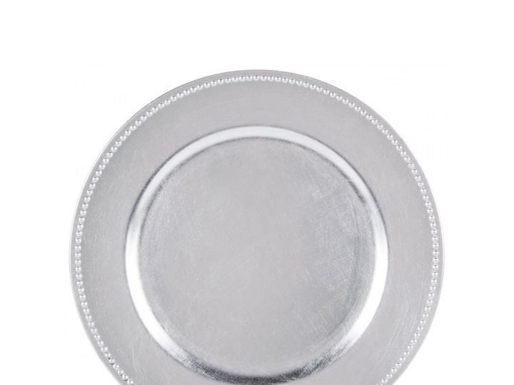 Tmx Silver Beaded Charger Plate 51 1899139 157592129543458 Raleigh, NC wedding rental