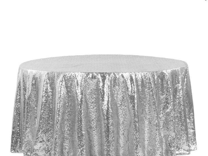 Tmx Silver Glitter Table Cover 51 1899139 157592134558722 Raleigh, NC wedding rental