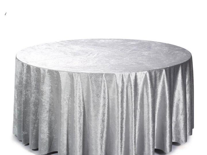 Tmx Silver Velvet Round 51 1899139 157592134665349 Raleigh, NC wedding rental