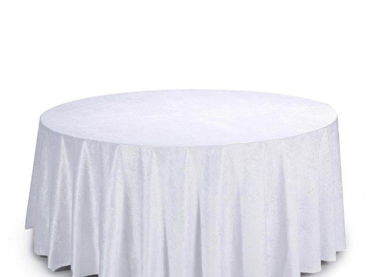 Tmx White Velvet Round 51 1899139 157592134869176 Raleigh, NC wedding rental