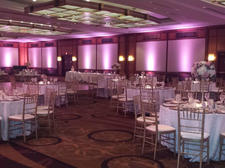 Tmx 1445355116443 Ballroom Abhallway Light Pinkgold Baltimore, MD wedding venue