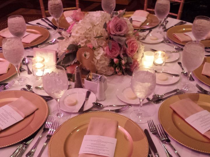 Tmx 1445355234828 Table Scape  Light Pink  Gold Baltimore, MD wedding venue