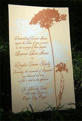 Tmx 1249891972513 Queenanneinvitegrass Portland wedding invitation