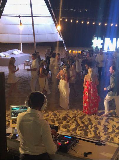 Wedding at Breathless, Cabo.
