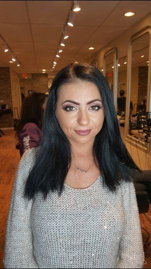 Dark haired beauty