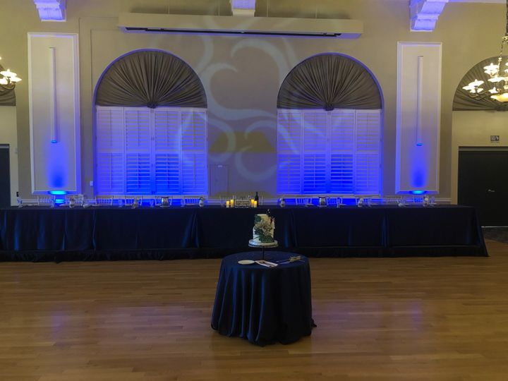 Uplights and Gobo Hearts