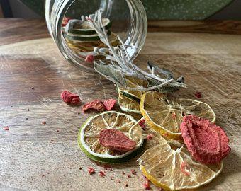 Strawberry Sage Infusion Jar