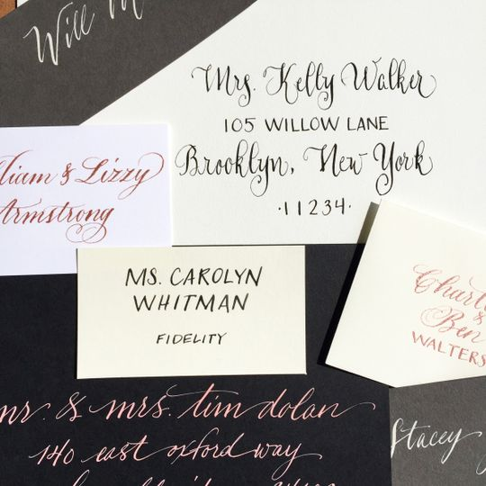 Belles Lettres Calligraphy