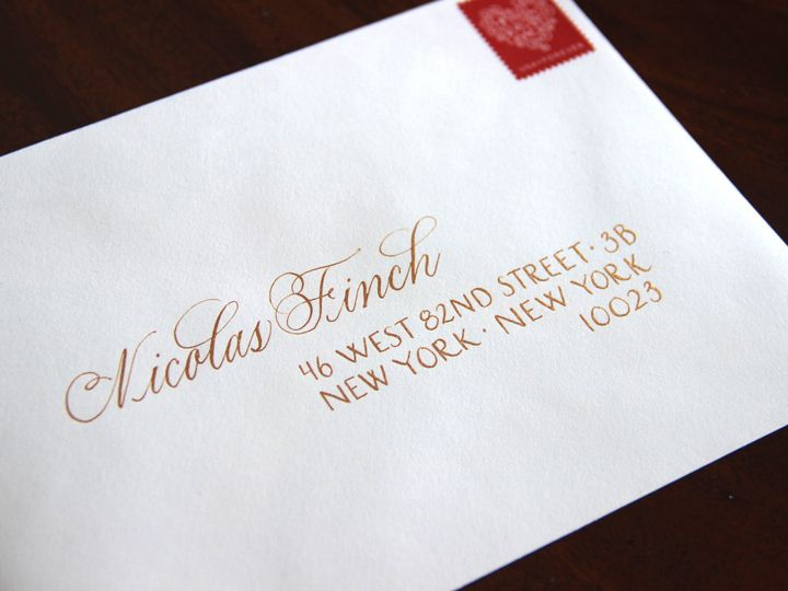 Tmx 1463394424527 Nicolas Finch Envelope Mendham, New Jersey wedding invitation
